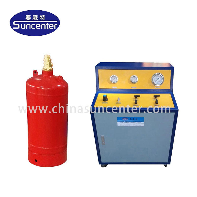 CO2 Fire Extinguisher cylinder filling machine
