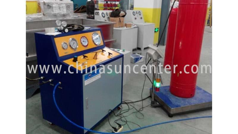 Suncenter irresistible automatic liquid filling machine type for fire extinguisher