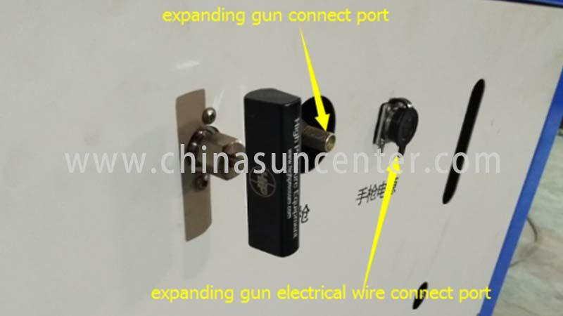 Suncenter hydraulic tube expander types for air conditioning pipe