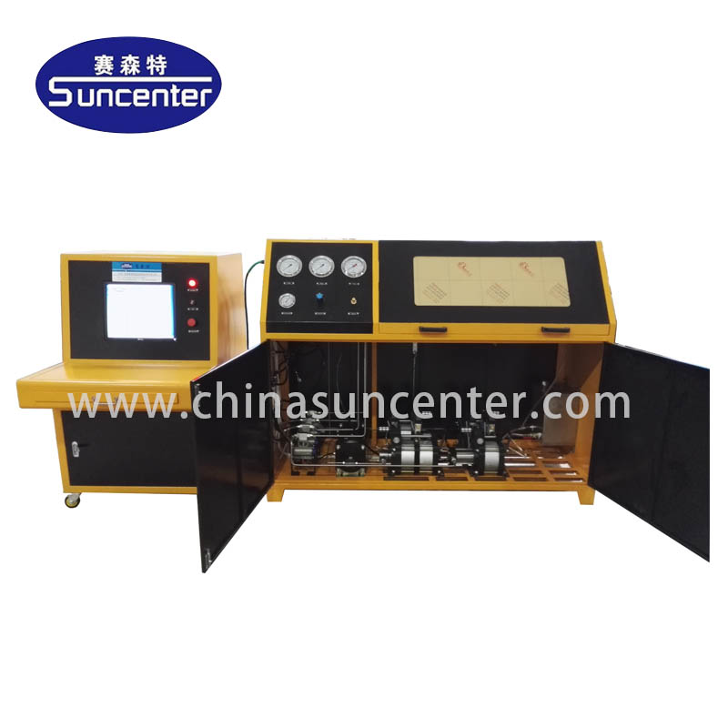 automatic compression testing machine machine application for flat pressure strength test-Suncenter--1