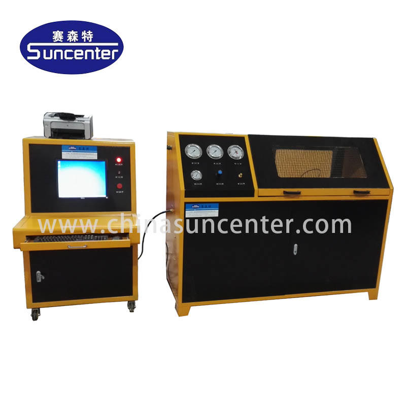 Burst hydrostatic pressure test machine for hose/pipes