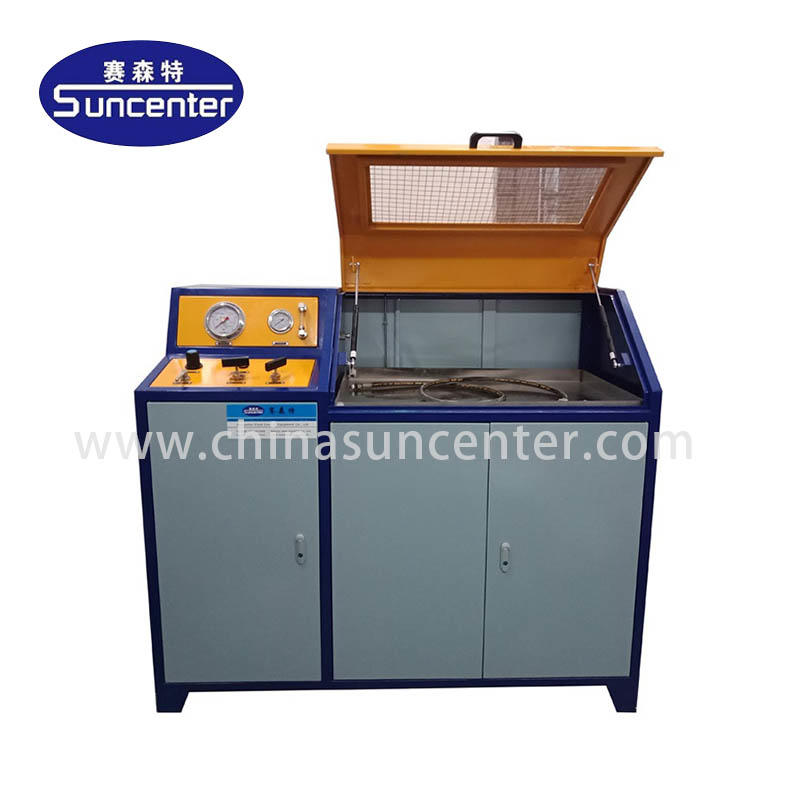 Digital control hydraulic pressure test bench