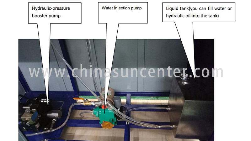 Suncenter competetive price hydrotest pressure application for flat pressure strength test-5