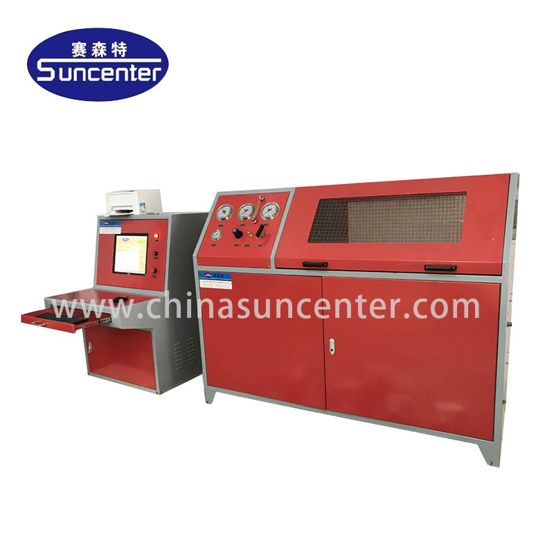 Suncenter-Hydraulic test machine with 10 bar-6000 bar pressure range-1