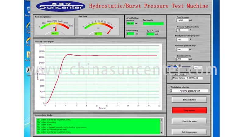 Suncenter competetive price pressure test test for pressure test