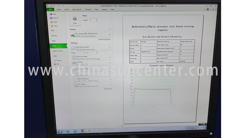 Suncenter energy saving pressure test in China for pressure test-7