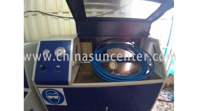Hydraulic test machine with 10 bar-6000 bar pressure range