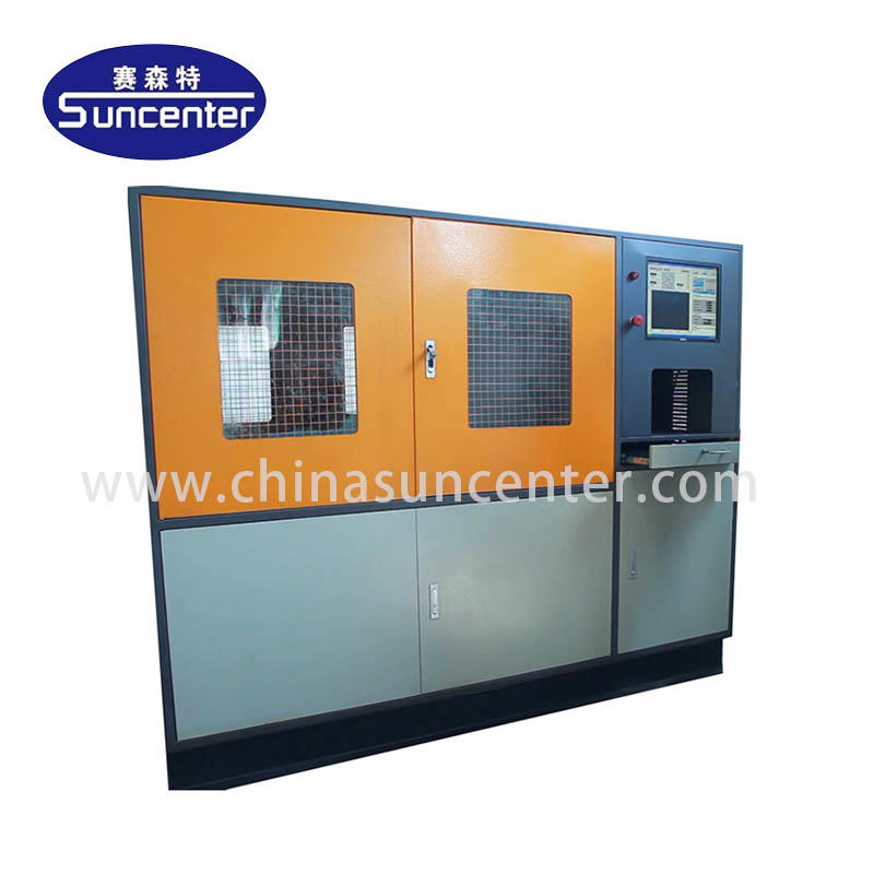 Impulse pressure test machine for brake hose