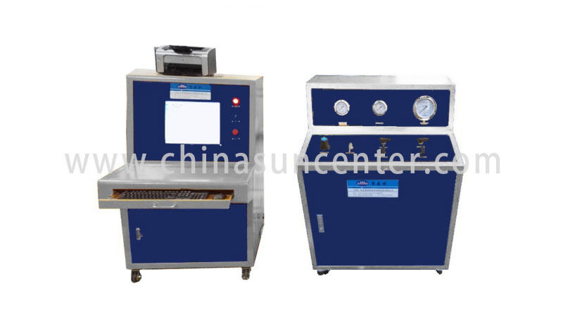 Suncenter bar pressure test pump application for flat pressure strength test-1