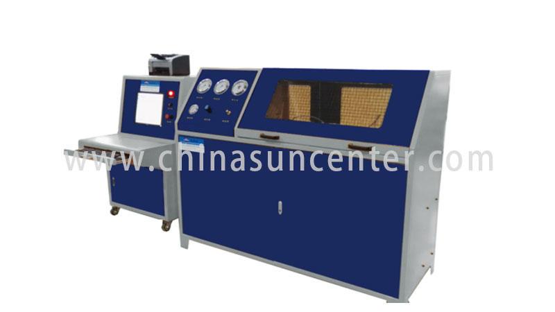 Suncenter bar pressure test pump application for flat pressure strength test-2
