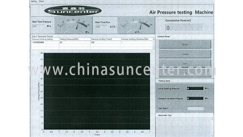 Suncenter high-quality pressure test in China for flat pressure strength test-4