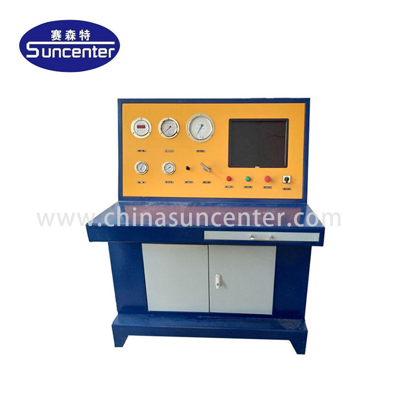 Cylinder hydrostatic pressure test machine