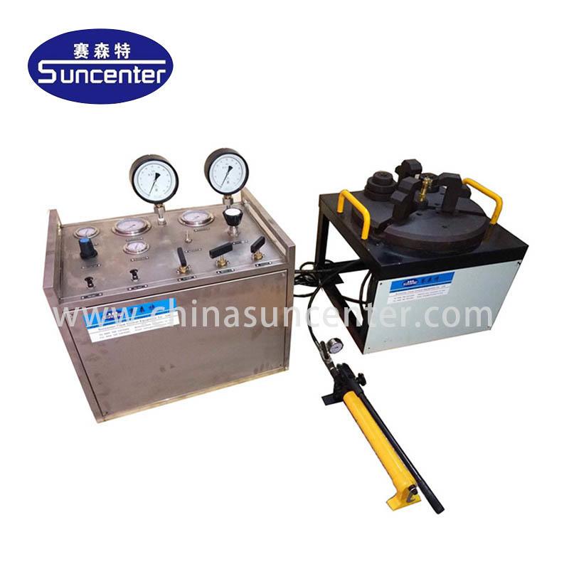 Portable safety valve test bench