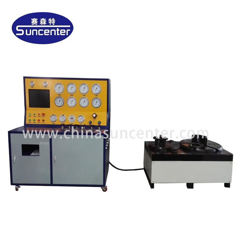 Suncenter-hydrostatic pressure test equipment | Safety valve test bench | Suncenter