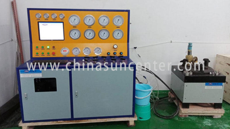 Suncenter valve hydrostatic pressure test free design