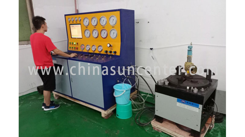 Suncenter model gas pressure test for-sale for factory-12
