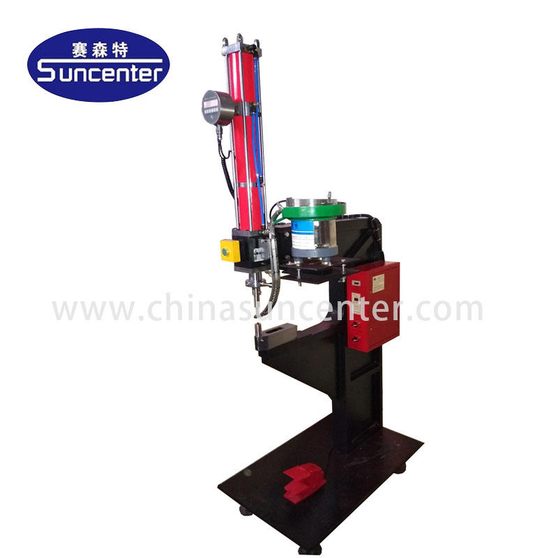 Suncenter SSTPR08 model Bolt and nut riveting machine
