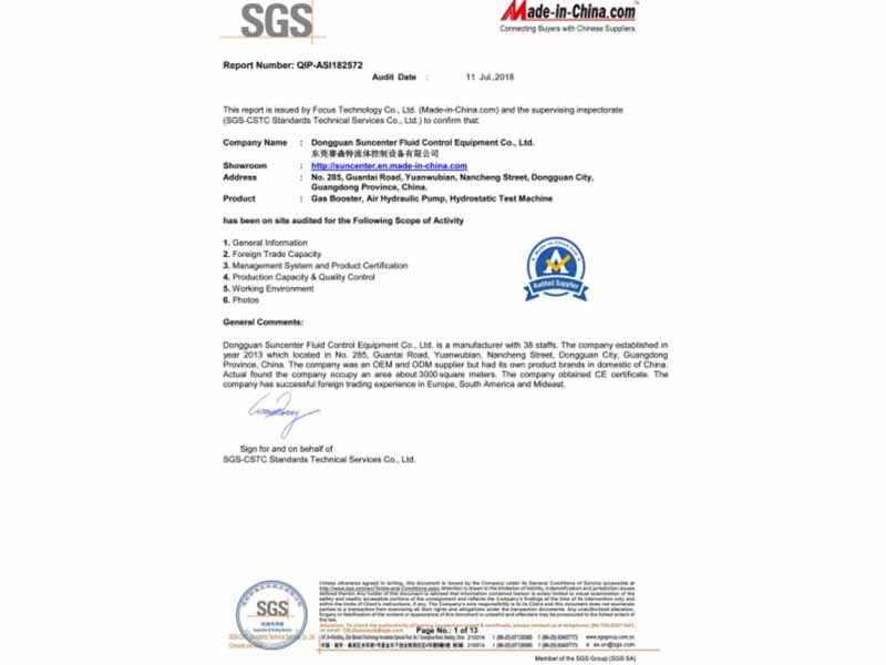 Suncenter-Congratulations,suncenter Has Certified By Sgs And Ce | News