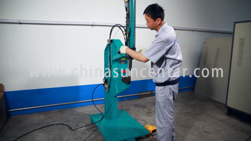Suncenter advanced technology riveting machine overseas marketing-3
