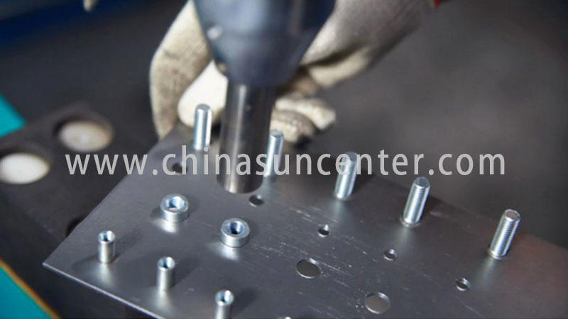 Suncenter machine orbital riveting machine from manufacturer for connection