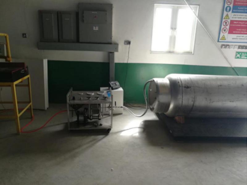 DGS-SLM06 model refrigerant pump for freon transfer and filling