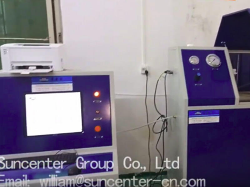 SHT series Computer control Hydraulic hose test bench
