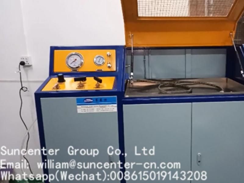 Suncenter Manual control model hydraulic test machine