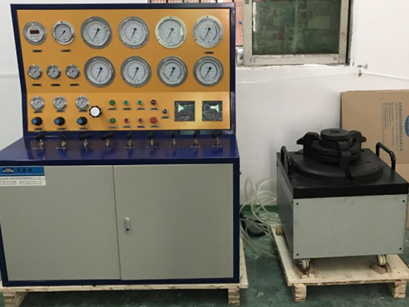 Suncenter SVT40-DN400-MC model manual+digital control safety valve test bench