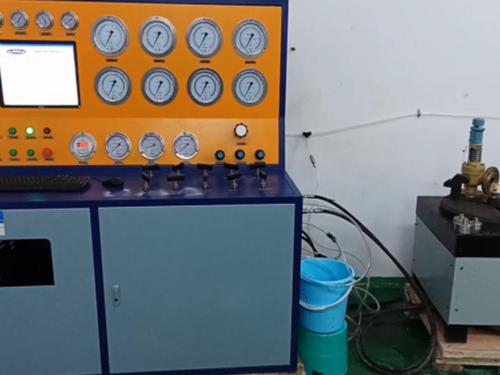 Suncenter SVT40-DN400-CC Model computer control safety valve test bench