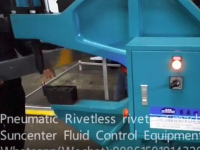 SSTPR04/SSTPR08 Model Rivetless riveting machine