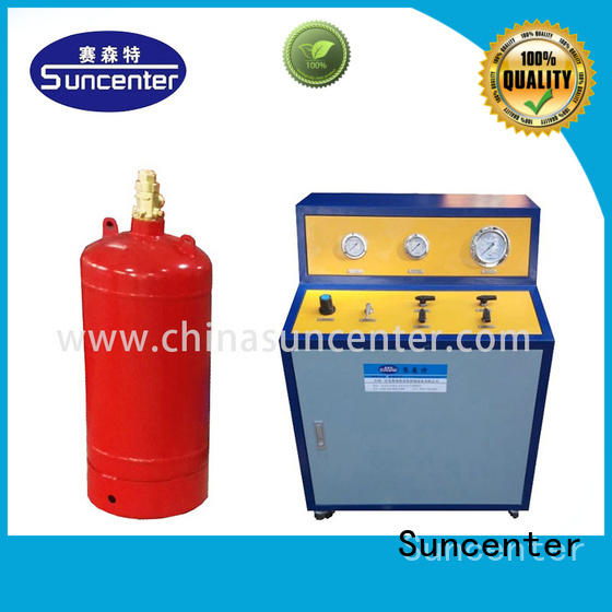 Suncenter environmental automatic filling machine marketing for fire extinguisher