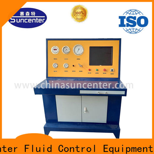 Suncenter long life hydrostatic testing manufacturer for metallurgy