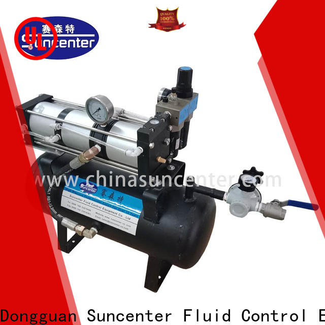 Suncenter air air pressure pump certifications for natural gas boosts pressure