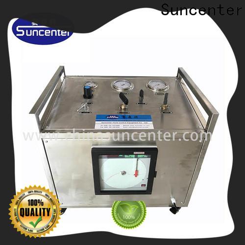 Suncenter bench gas booster compressor bulk production for pressurization