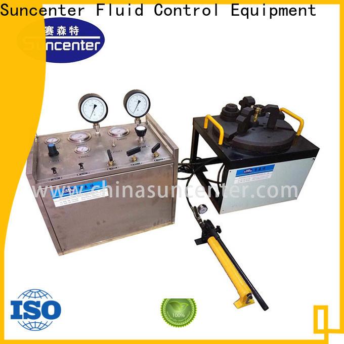 Suncenter bench hydrostatic pressure test bulk production