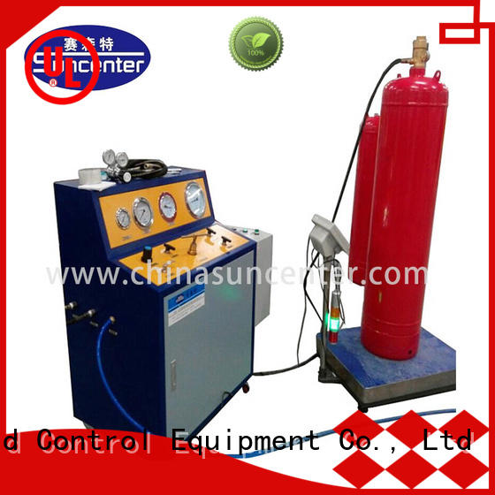Suncenter scientific automatic filling machine for fire extinguisher