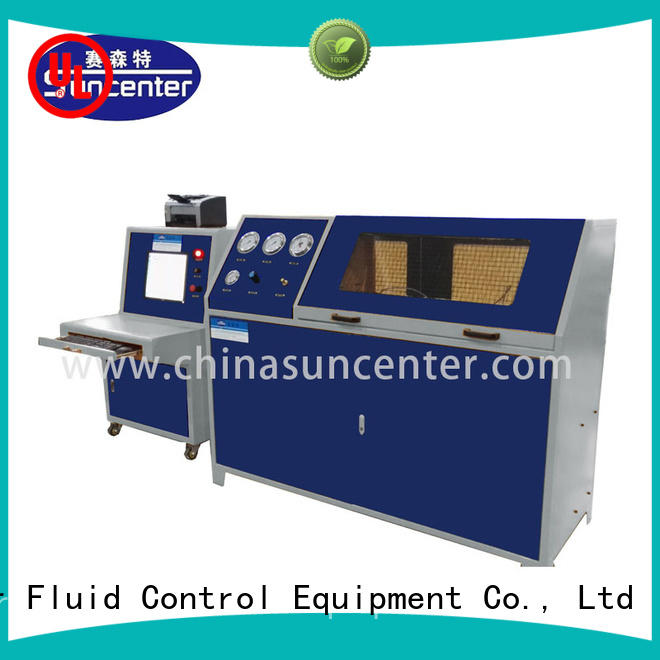 Suncenter hydrostatic water pressure tester type for flat pressure strength test