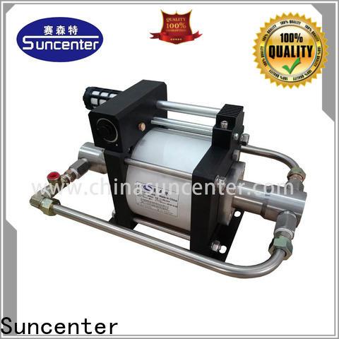 Suncenter liquid co2 pump supplier for pressurization