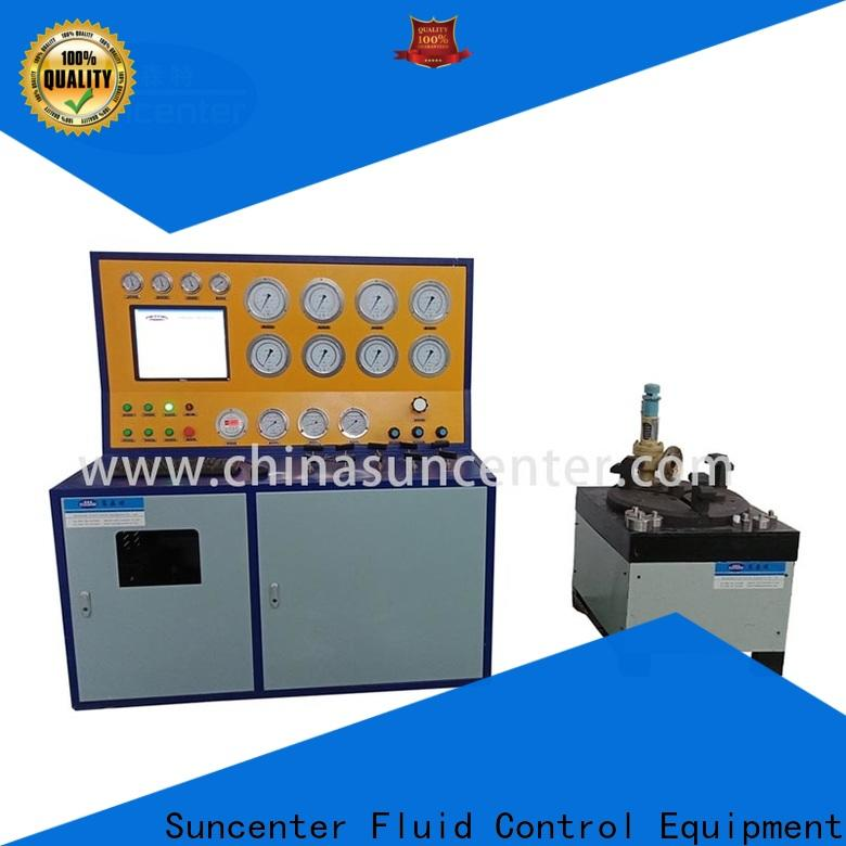 Suncenter irresistible gas pressure test for industry