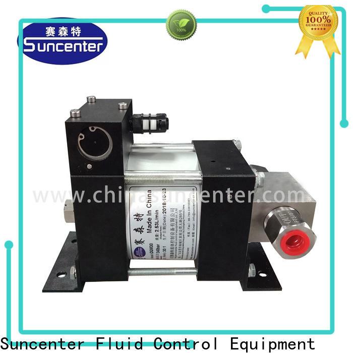 Suncenter series air driven hydraulic pump overseas market for petrochemical