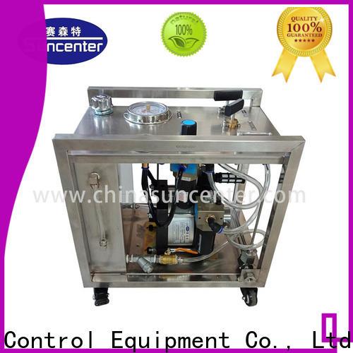 Suncenter test high pressure water pump manufacturer for mining
