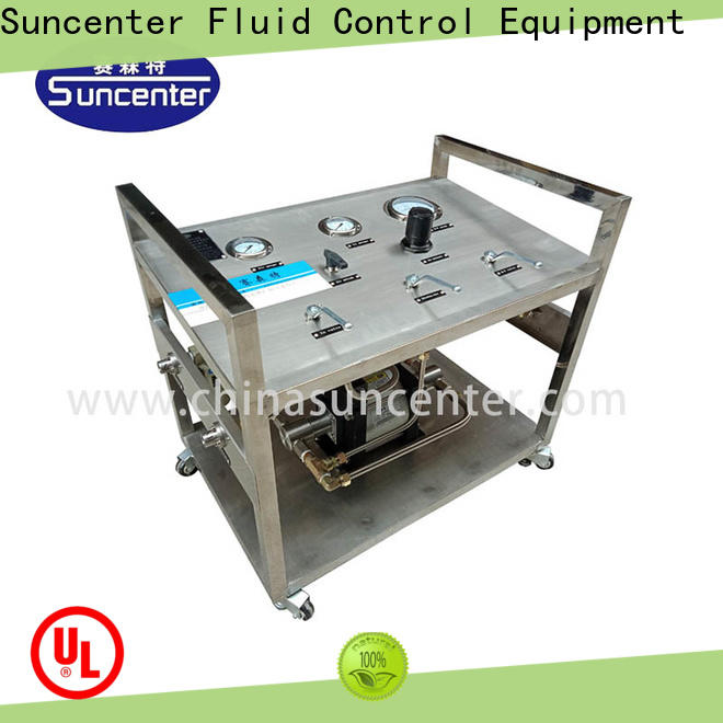 Suncenter extraction liquid nitrogen pump speed for safety valve calibration