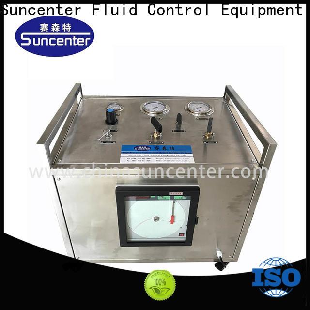 Suncenter system gas booster compressor marketing for safety valve calibration
