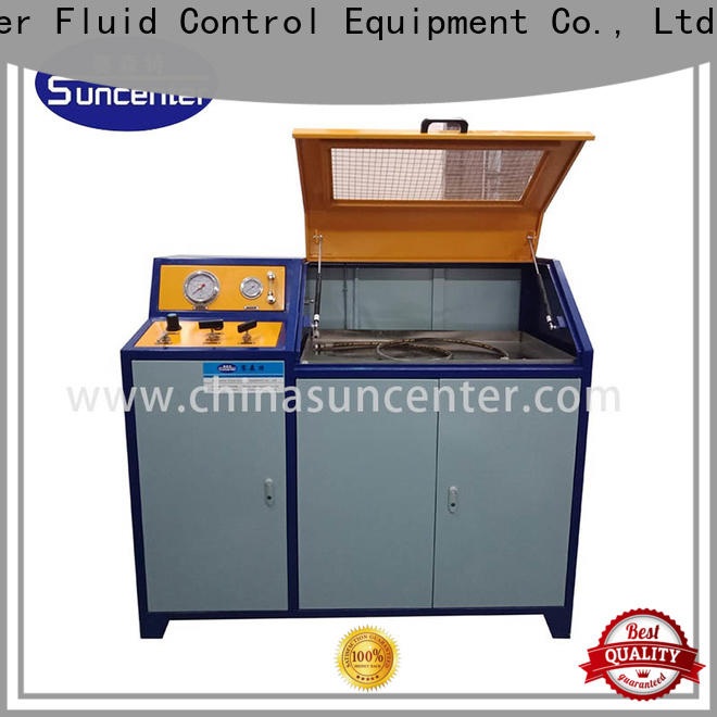 Suncenter competetive price hydrotest pressure application for flat pressure strength test