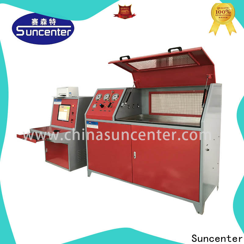 high-quality hydrotest pressure bench application for flat pressure strength test