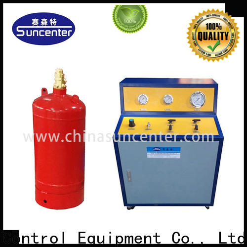 Suncenter automatic automatic filling machine from manufacturer for fire extinguisher