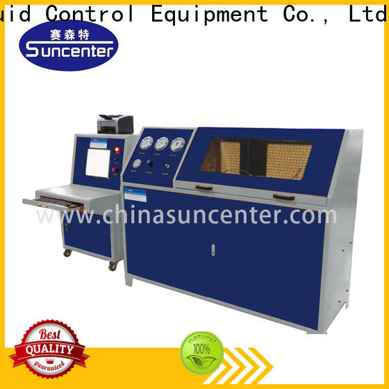 Suncenter easy to use compression testing machine for-sale for pressure test