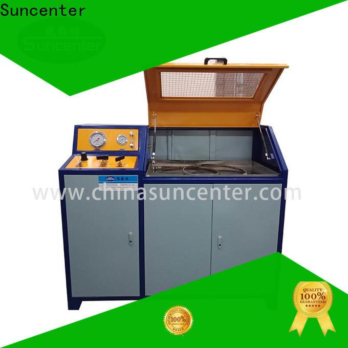 Suncenter test pressure test kit sensing for flat pressure strength test