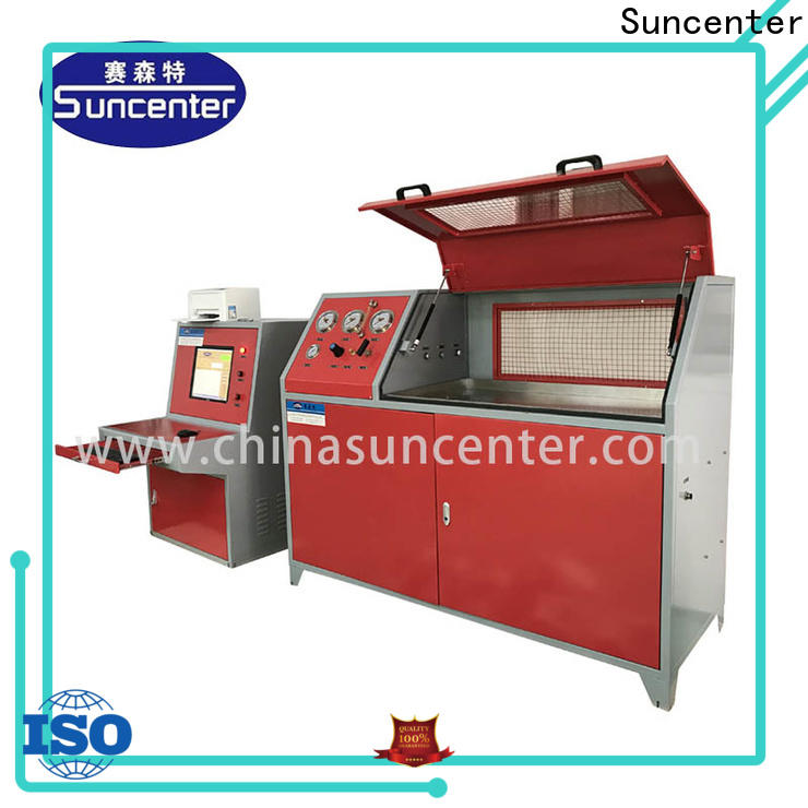 Suncenter competetive price hydrotest pressure for flat pressure strength test