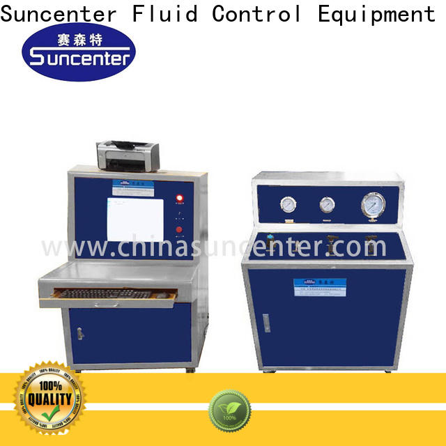 Suncenter easy to use pressure test type for flat pressure strength test